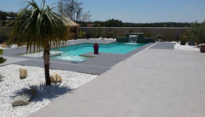 maison mixte avec piscine
