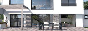 conception 3D maison contemporaine