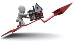 Hausse des crédits immobiliers