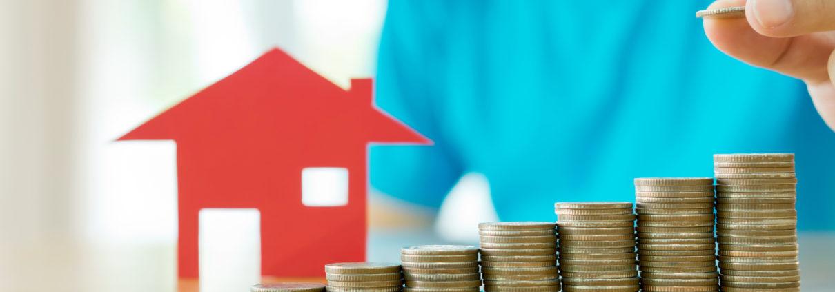 Taux de crédit immobilier à la baisse